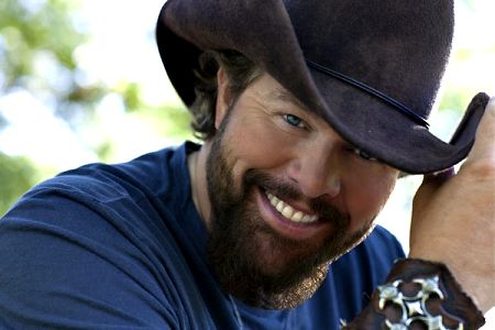 Toby Keith Without Hat Singing actor toby keith